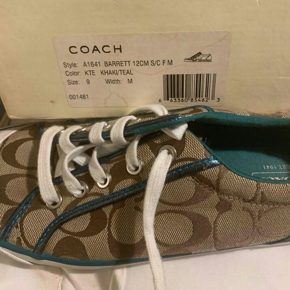 Coach Shoes - Coach Barrett lace up sneakers